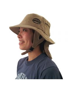 airSUP Bucket Hat for Stand Up Paddle Surf & Sun Protection Khaki WMS