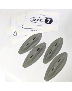 Air7 Mini Fin Box System For Foam Surfboards