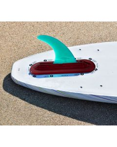 Air7 US Fin Box System For Foam Surfboards (RED)