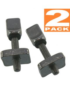 Air7 Fin screws for US Center Box Fin Screw suitable for hard and  inflatable SUP with US box, no tools, no rust (2 pack)